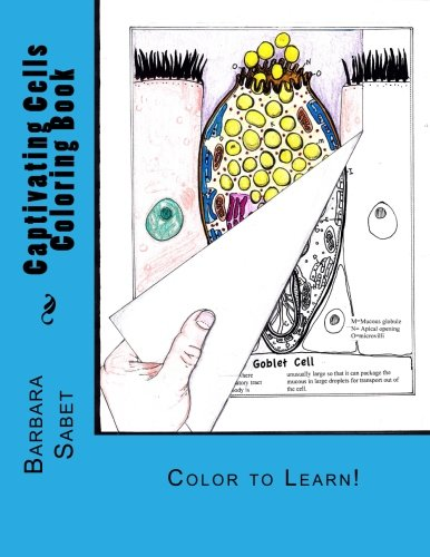 Captivating Cells Coloring Book: Color to Learn!