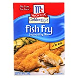 GOLDEN DIPT, BREADING, FISH FRY, Pack of 8, Size 10 OZ - No Artificial Ingredients
