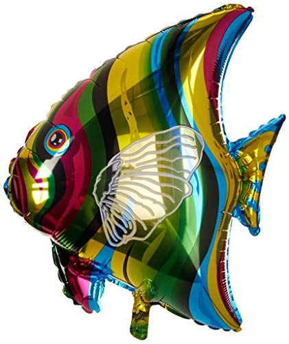(LA Balloons Foil Balloon 901612 TROPICAL FISH, 26