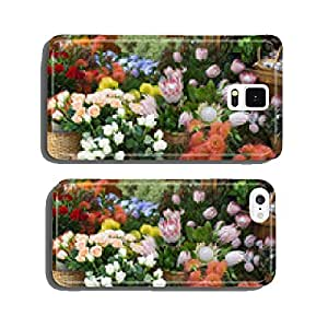 flowers market of funchal town,madeira cell phone cover case Samsung S6