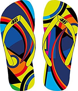 Tongs Homme Valentino Rossi VR46 classic multicolor lZC5AVD