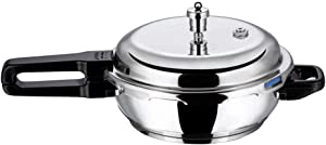 Vinod P-Jum Splendid Stainless Steel Sandwich Bottom Pressure Pan, Jumbo