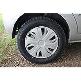 VAIBN - Premium Quality Full Wheel Cover Cap TATA Indica Vista 14 inch Silver