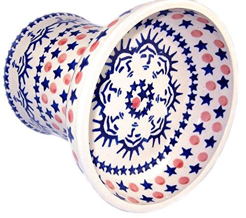 polish-pottery-cat-small-dog-raised-dry-food-dish-water-bowl-statue-of-liberty-new-york-new-york
