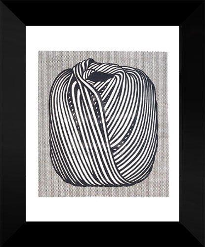 Roy Lichtenstein Framed Art Print 18x15