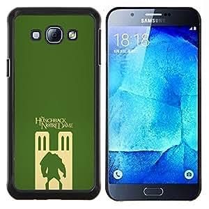 TECHCASE---Cubierta de la caja de protección para la piel dura ** Samsung Galaxy A8 ( A8000 ) ** --el jorobado de Notre Dame