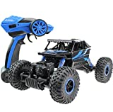 2.4Ghz 1:18 Battery Powered RC Rock Crawler Vehicle Toy 4 WD Fast Race ...
