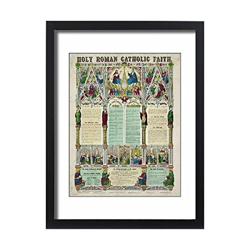 Framed 24x18 Print of Holy Roman Catholic faith (7279017) by Prints Prints Prints