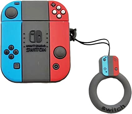 Amazon Com Switch Case For Airpods 1st 2nd 3d Cartoon Nintendo
