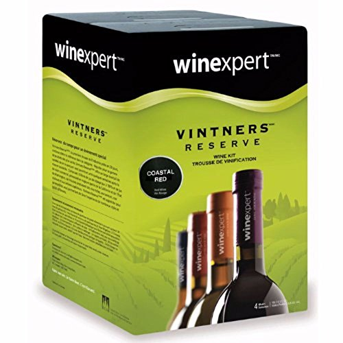 Coastal Red (Vintner's Reserve) Wine Ingredient Kit