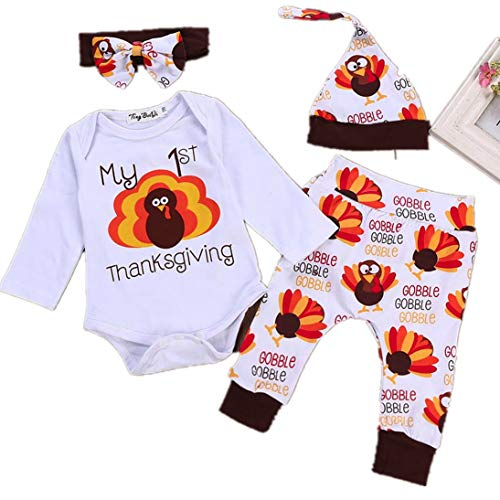 Fheaven (TM) Infant Baby Girl Thanksgiving Day Clothes
