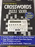 Next Century by Franklin Electronic Crosswords Puzzle Solver NCC-100