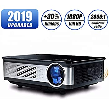 Amazon.com: GP90UP Home Projector LED Micro Portable Office ...