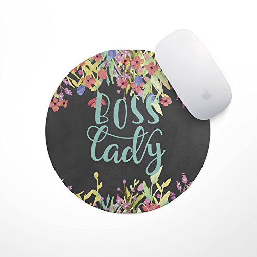 Boss Birds (Boss Lady Floral Mouse Pad)