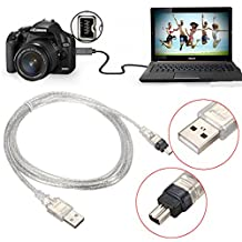 BephaMart 1.5M/5FT USB 2.0 Male to 4 Pin IEEE 1394 Cable FireWire Lead Adapter Converter Shipped and Sold by BephaMart