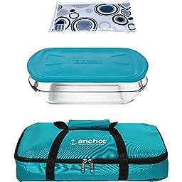 Anchor Hocking 10194 3Qt Essentials Bakentake Tote