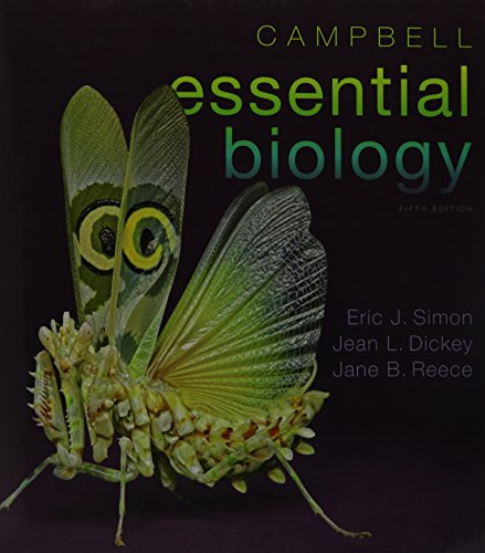 Campbell Essential Biology & Modified MasteringBiology with Pearson eText -- ValuePack Access Card -- for Campbell Essential Biology (with Physiology chapters) Package