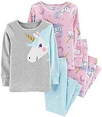 018e76485c43 UPC 889338881846 Carter s Girls Pajamas PJs 4pc Cotton Snug Unicorn ...