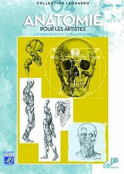 Lefranc Bourgeois Léonardo n°4 Album d'étude Anatomie pour artiste