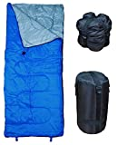 RevalCamp Indoor and Outdoor Sleeping Bag - Blue