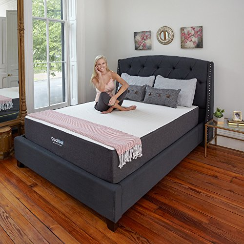 Classic Brands 10.5 Inch Cool Gel Ventilated Memory Foam Mattress, Queen by Classic Brands (Image #3)