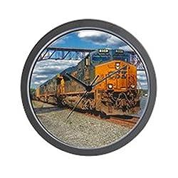 CafePress - CSX Train - Highland NY - Unique Decorative 10 Wall Clock