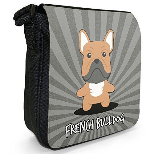 Borsa Fancy Snuggle A In Dogs Tela English Cartoon Black nbsp; Small ff0wRr5q