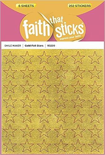 Gold Foil Stars