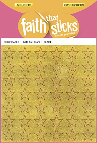 Gold Foil Stars (Faith That Sticks Stickers) -