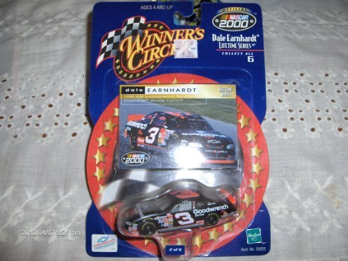 (Dale Earnhardt #3 Lifetime Series 2 of 6 1999 GM Goodwrench Service Plus Winners Circle Diecast Car)