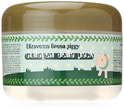 Elizavecca Green Piggy Collagen Jella Pack Pig Mask, 4.3 Ounce (Collagen Jelly Pack Mask compare prices)