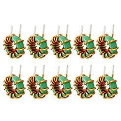 uxcell 10Pcs Vertical Toroid Magnetic In...