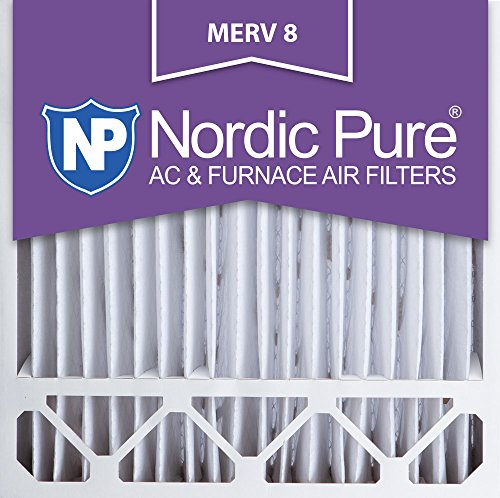20x20x5HM8-2 Honeywell Replacement MERV 8 AC Furnace Air Filter, QTY 2
