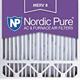 Nordic Pure 20x20x5L1M8-1 MERV 8 Lennox X6675 Replacement Air Filter, 20x25x5, Box of 1