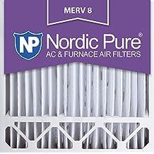 Nordic Pure 20x20x5HM8-1 MERV 8 Honeywell Replacement Air Filter, 20x25x5, Box of 1
