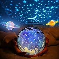 Star Night Light For Kids, Universe Night Light Projection Lamp, Romantic  Star Sea Birthday