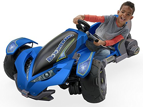 Power Wheels Boomerang, Blue ()