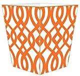 WB8024-Orange Madison Wastepaper Basket