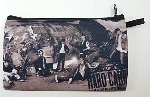 GOT7 GOT SEVEN Hard Carry (2016) KPOP Korean Boy Band BIG Zip Pen Pencil / Cosmetic Makeup Case Bag Pouch Stationery GOT-028 (Net Got)
