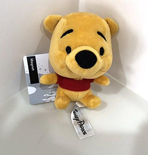 (Disney Parks Winnie The Pooh Big Head Magnet Plush Doll)