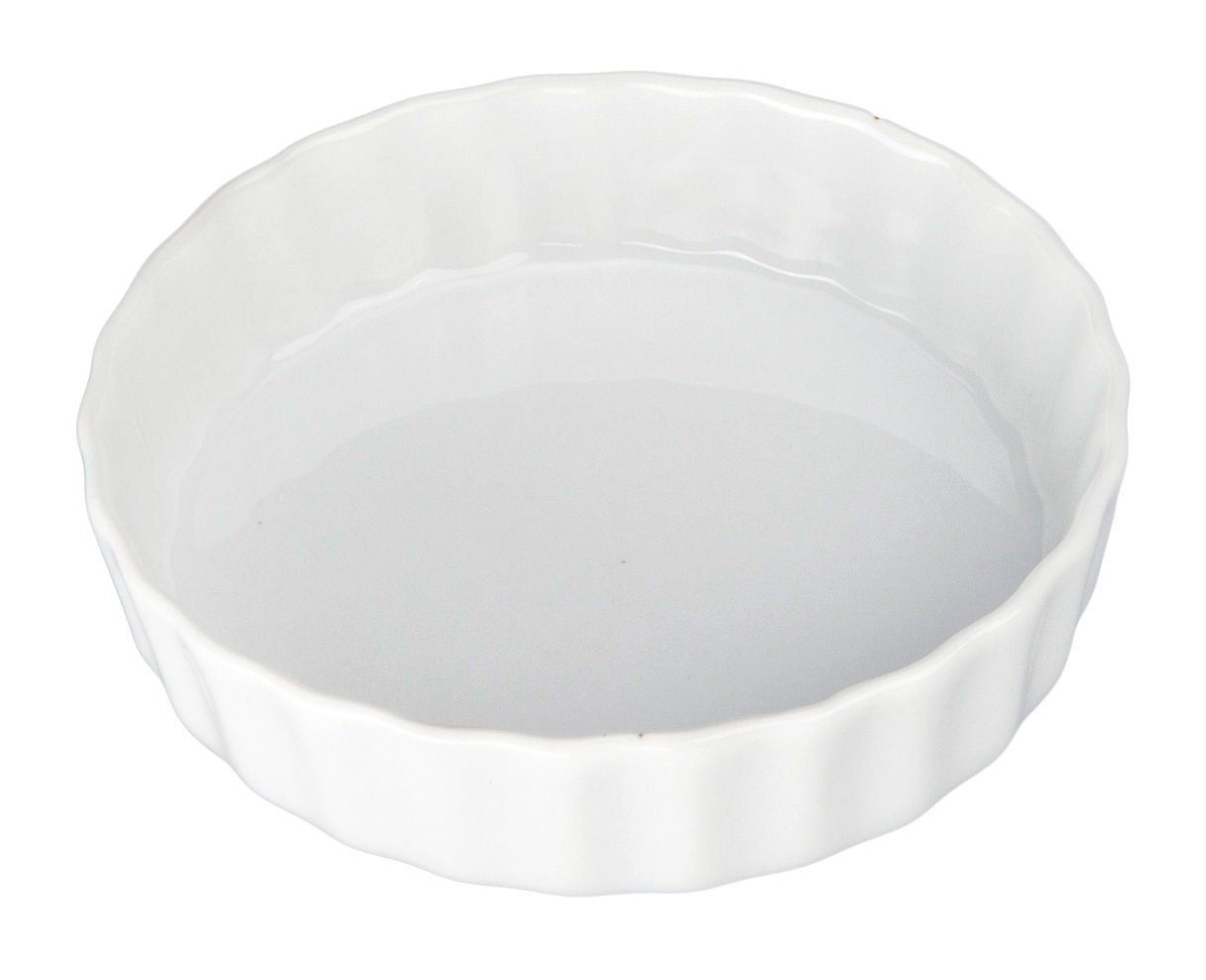 BIA Cordon Bleu 5-Inch Porcelain Quiche Dish, Pack of 4 900075