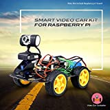 Kuman Professional WIFI Smart Robot Car kit for Raspberry Pi RC Remote Control Robotics Electronic Toys Game Controlled by PC Android ISO App with 8G SD Card