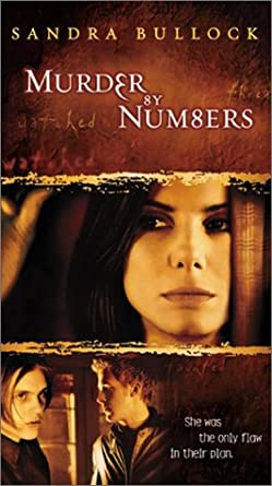 amazon co jp murder by numbers vhs import sandra bullock ben