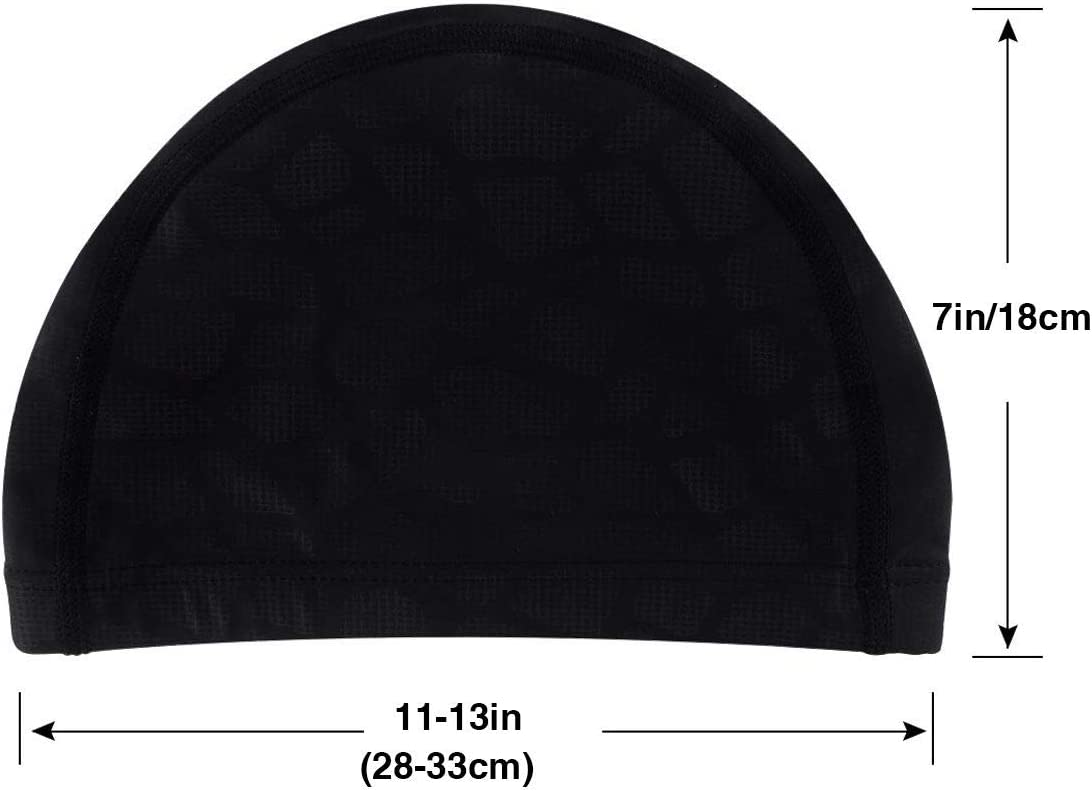 AKLID Glitter Purple Mermaid Swimming Caps for Men and Women are Also Suitable for Boys and Girls.