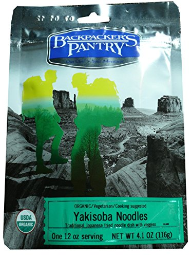 Price comparison product image Backpacker's Pantry Organic Yakisoba Noodles, One Serving Pouch