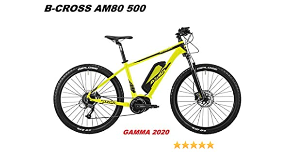 Atala - Bicicleta B-Cross AM80 500 Gamma 2020, Yellow Black Matt, 18