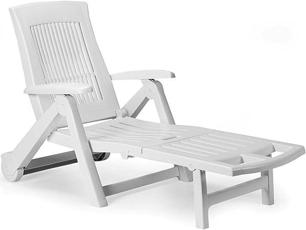 Sonnenliege Gartenliege Relaxliege Saunaliege Kunststoff Anthrazit 195x72x101cm
