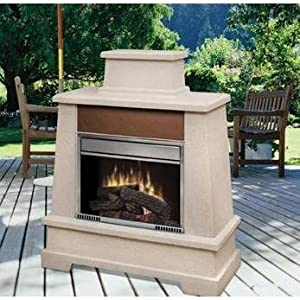 Dimplex Sierra Vista Outdoor Electric Fireplace