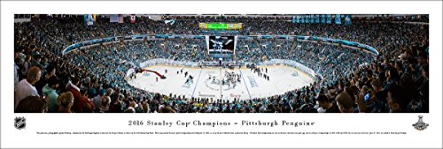 2016 NHL Stanley Cup Champions - Pittsburgh Penguins - Blakeway Panoramas Unframed NHL Posters ()