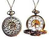 Supernatural TV Series Anti-Possession Bronze Finish Pendant Pocket Watch